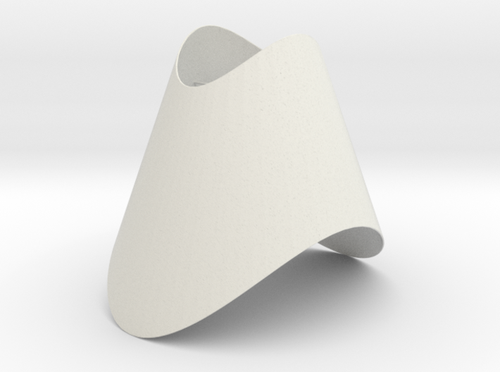 Pendant-Cone-OvalCut-Twisted 3d printed