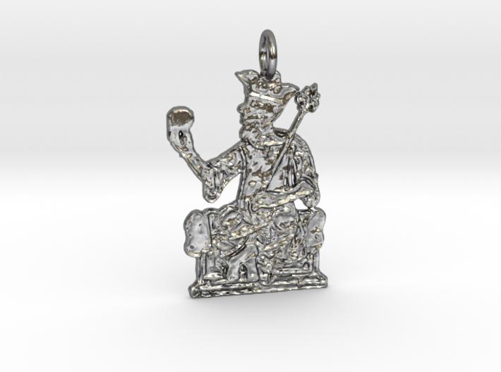 Mansa Musa Pendant 3d printed