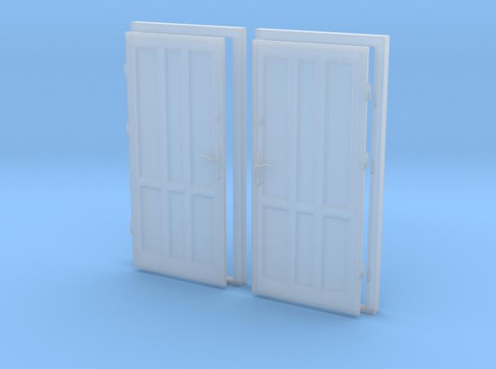0 scale 1:43 doors ( 2pcs set)  3d printed