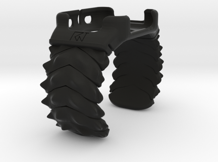 Apple Watch - 42mm Medium Band Spikey 3d printed