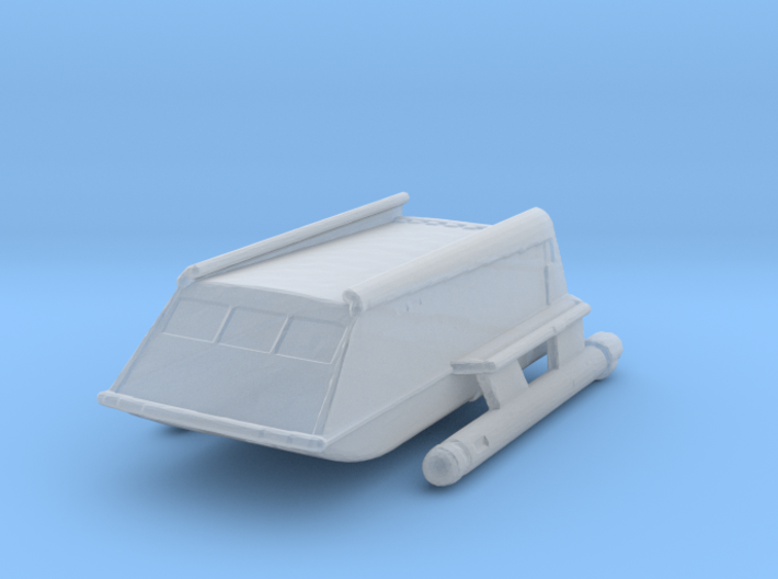 1:537 TOS Shuttle (Cutaway size) 3d printed