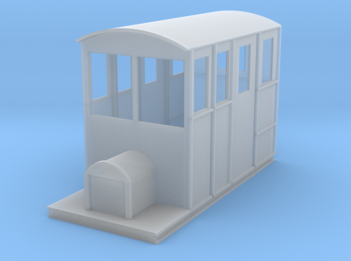 Tralee & Dingle Railcar 4mm scale 009 3d printed