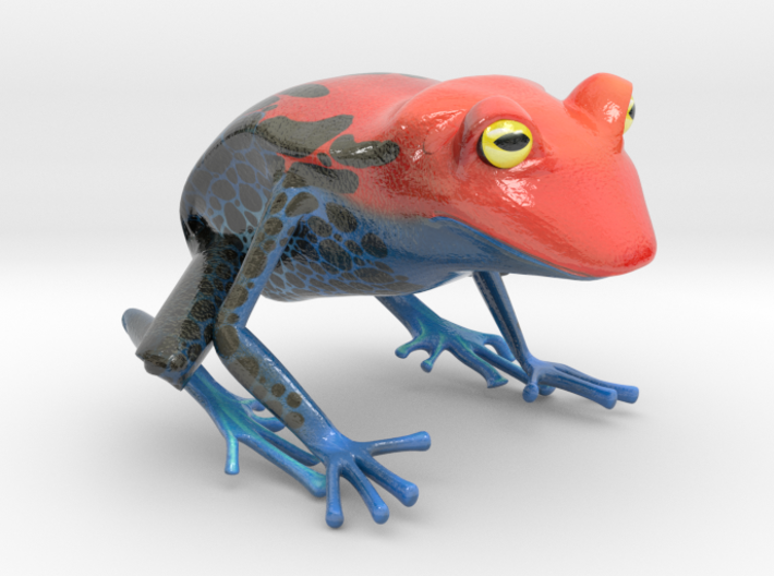 Wilds of Organica - Frog 3d printed