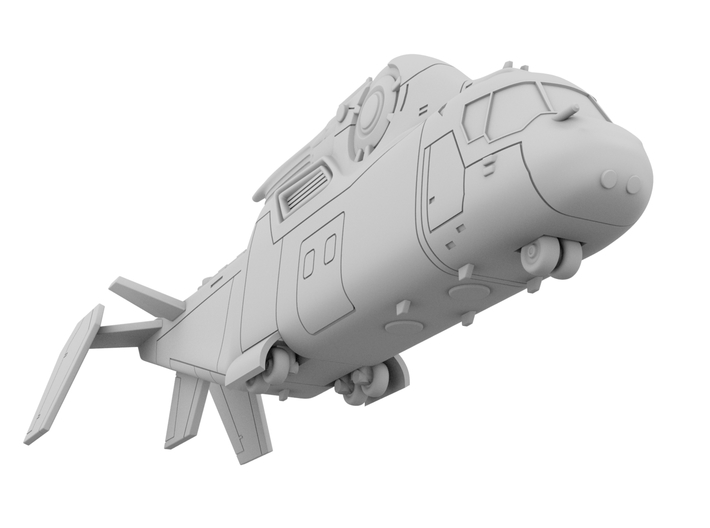 1:200 - Copter [Independence Day - Resurgence] 3d printed