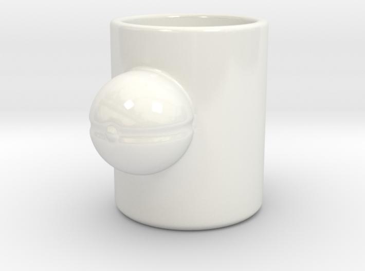 Pokemon Pokeball Mug 3d printed