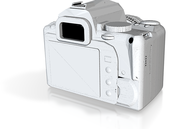 1/10 Scale SLR Camera 3d printed