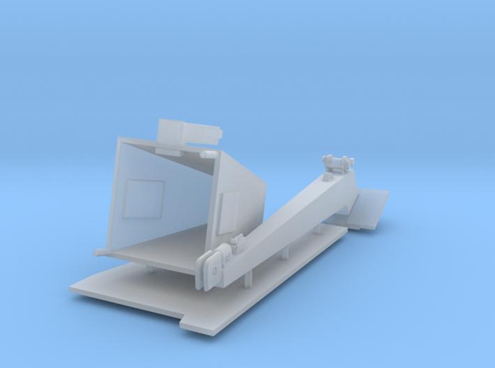 1/72 Scale Burke Crane, Ver 3 Stealth 3d printed