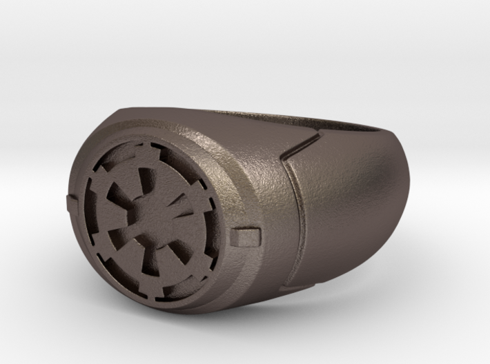 Imperial Signet Ring 3d printed
