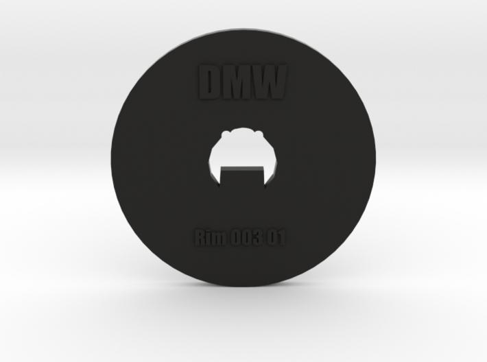Clay Extruder Die: Rim 003 01 3d printed