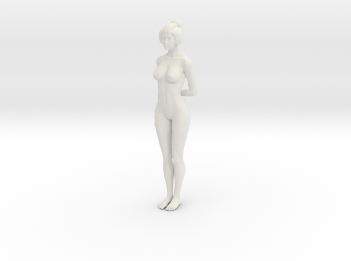 Japanese Girl 010 1/10 3d printed