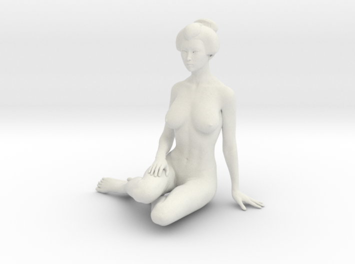 Japanese Girl 015 1/10 3d printed