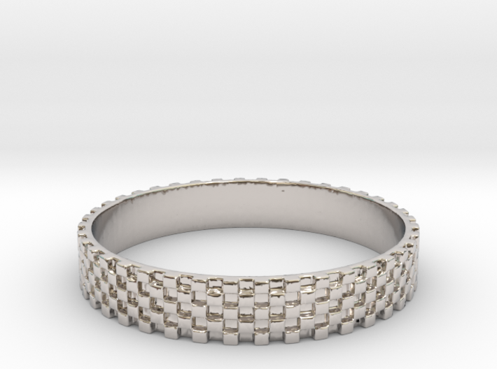 Perfect Square Ring (Size-12) 3d printed Perfect Square ring (Size-12) (different materials have different prices)