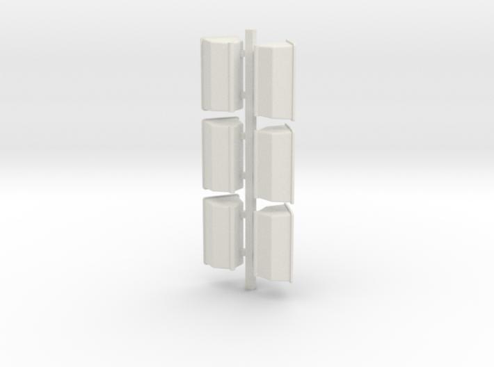 6 Fert Boxes 3d printed
