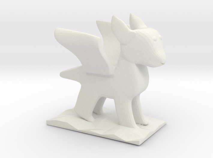 Chander's Dragon 3d printed