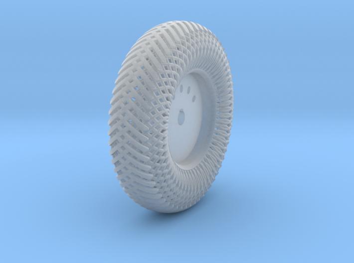 08B2-Back-Left Meshed Wheel 3d printed