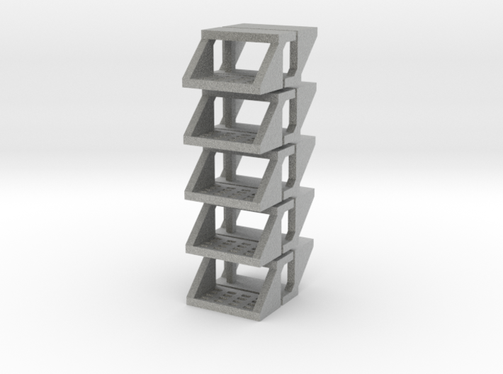 10 Truck Steps (for 1/64 Applications) 3d printed