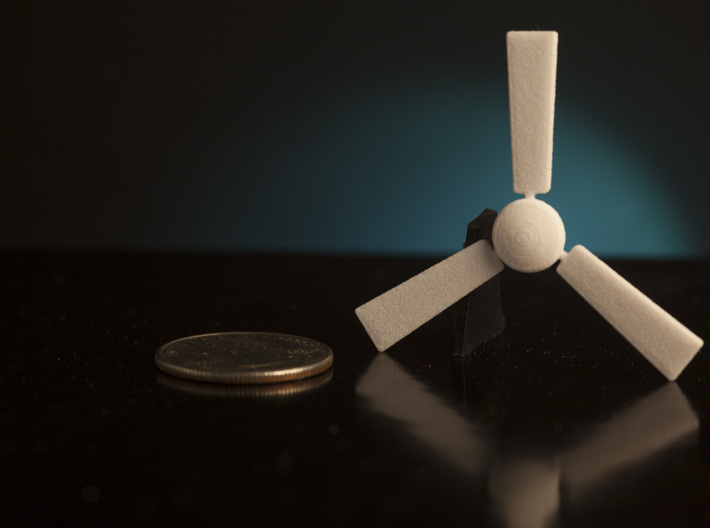 1:24 Ceiling Fan 3d printed