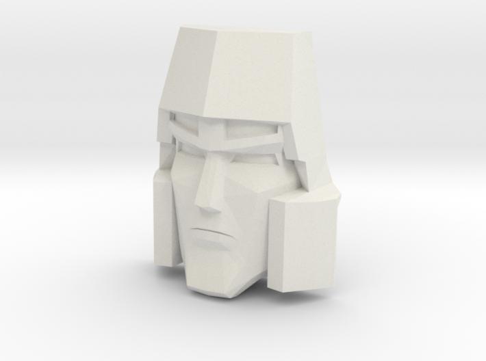 Megatron Face, Sunbow (Titans Return) 3d printed