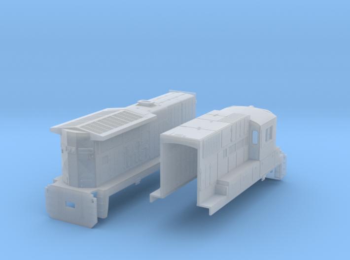 GE C39 8(HO/1:87 Scale) 3d printed