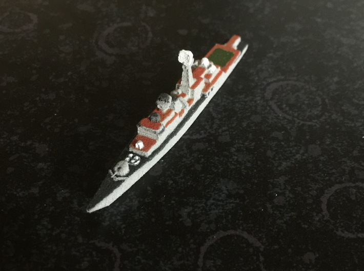 Neustrashimyy-class frigate, 1/1800 3d printed Painted Sample