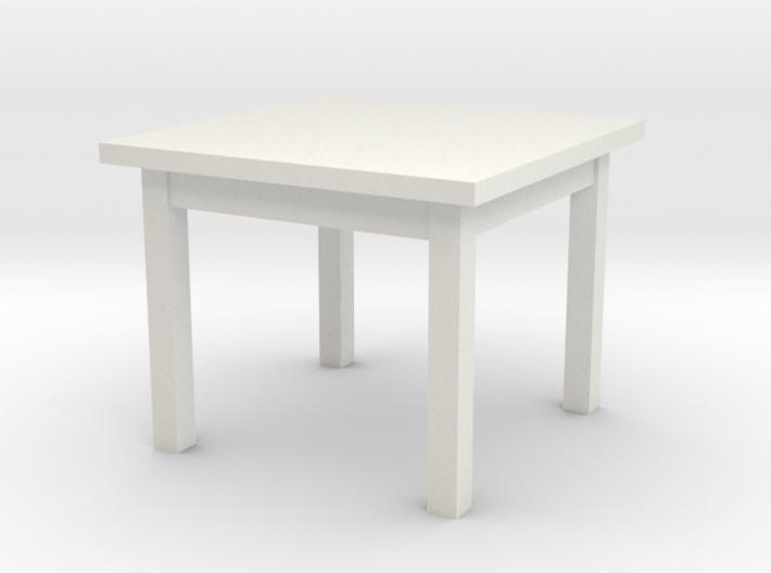 1:48 Table 38x38x30(NotFullSize) 3d printed