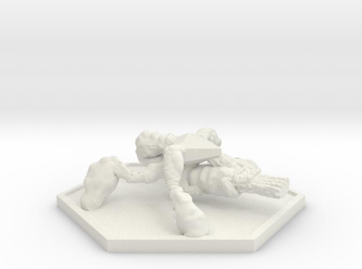 SWARM Gunner (Hex) 3d printed