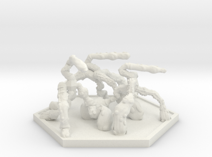 SWARM Shooter Hoard (Hex) 3d printed