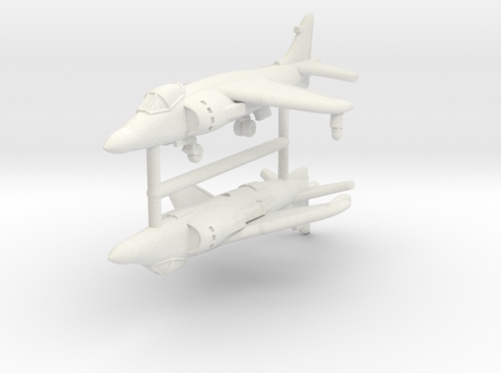 1/350 Sea Harrier FA Mk.2 (x2) 3d printed