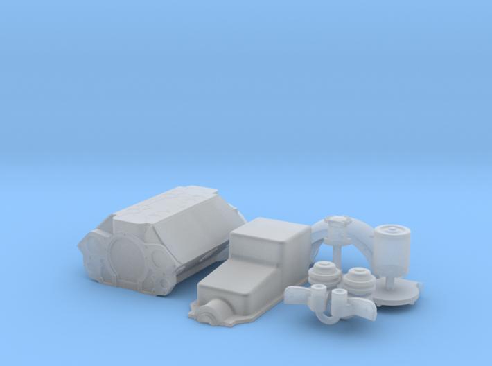 1/32 Flathead Basic Block Kit 3d printed