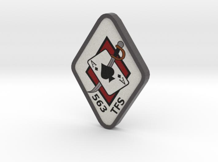 563 TFS Logo 3d printed