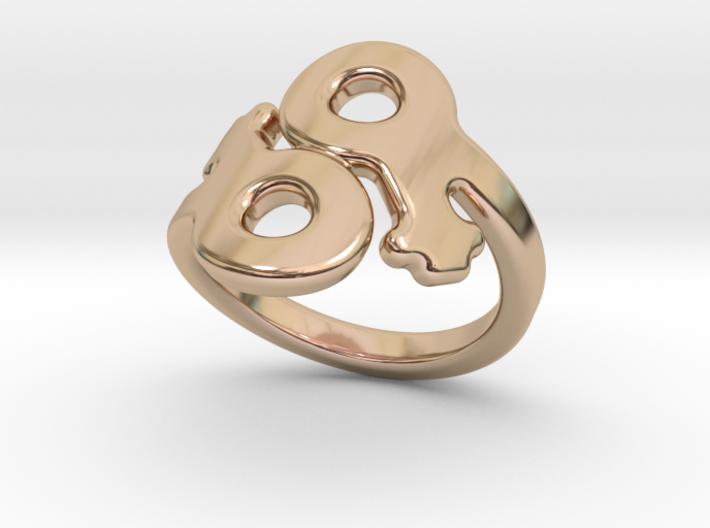 Saffo Ring 15 – Italian Size 15 3d printed