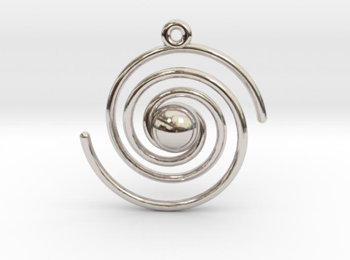 Spiral Galaxy 3d printed