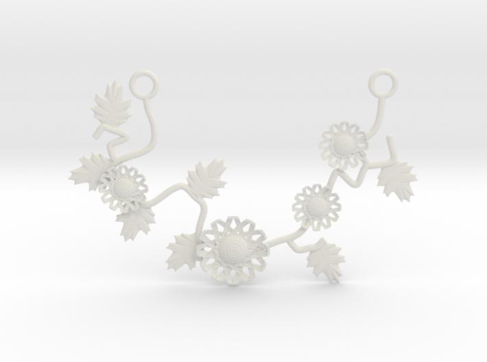 FLEURISSANT - Necklace #1 3d printed
