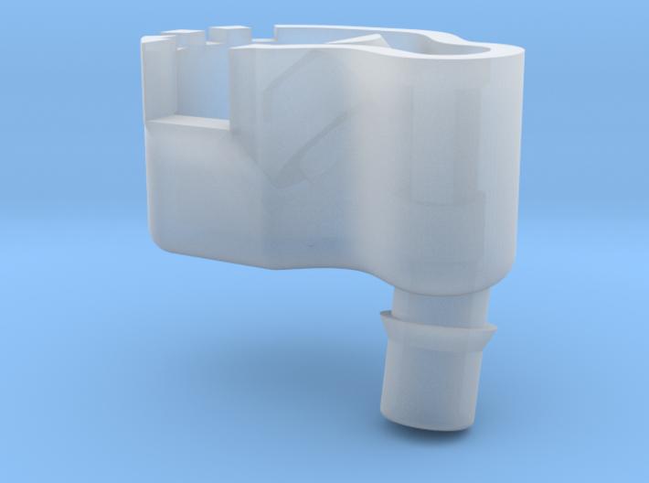 Earphones Shell 10mm LEFT 3d printed