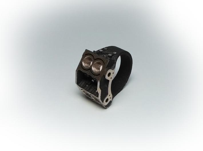 V4 Engine Block Steel Ring 19 mm 3d printed 19 mm diameter