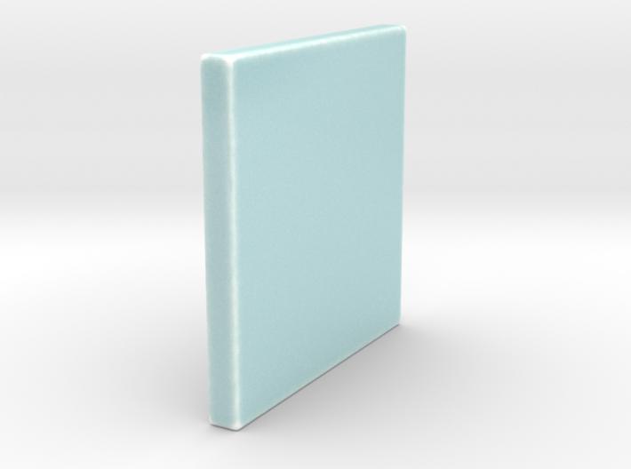Celadon Selfie 4x4 Tile 3d printed