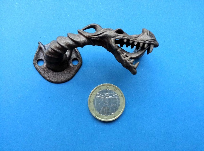 Dragon Cabinet Handle 5 - Facing right 3d printed