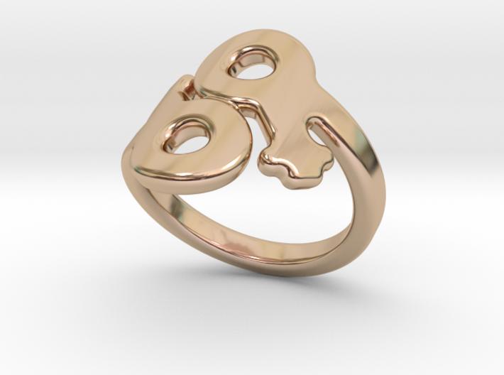 Saffo Ring 26 – Italian Size 26 3d printed
