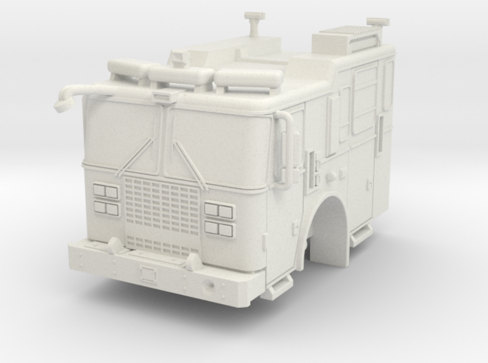 ~1/64 fdny ferrara rear mount ladder 3d printed