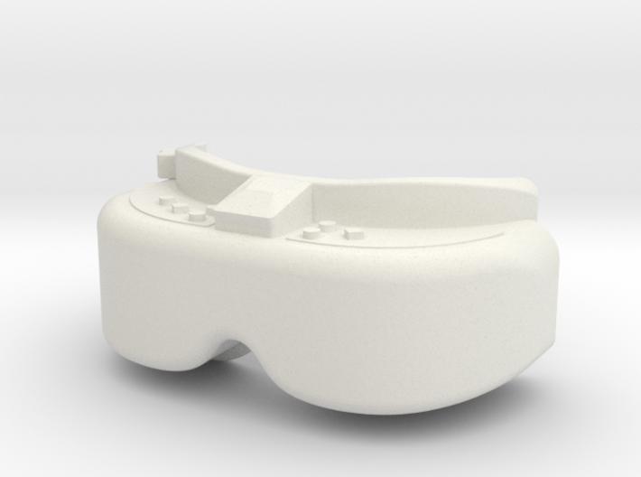 FPV Goggles Keychain 3d printed