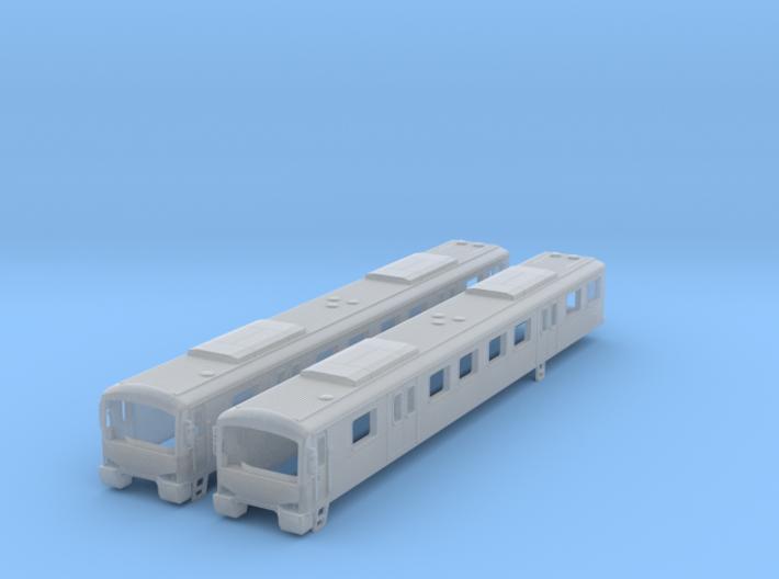 NSM1 - Melbourne Metro Siemens - M Cars 3d printed
