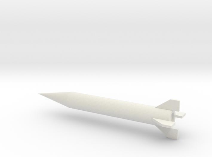1/72 Scale Iraqi Al Samoud II Missile 3d printed