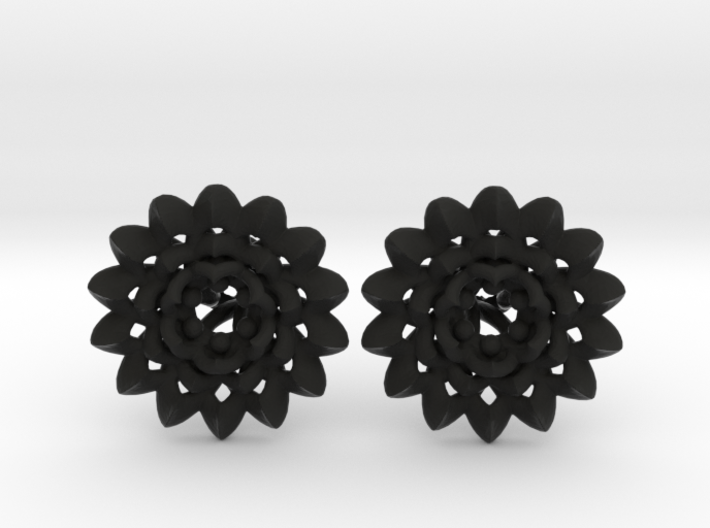 Plugs The Chrysanthemum / gauge / size 6G (4mm) 3d printed
