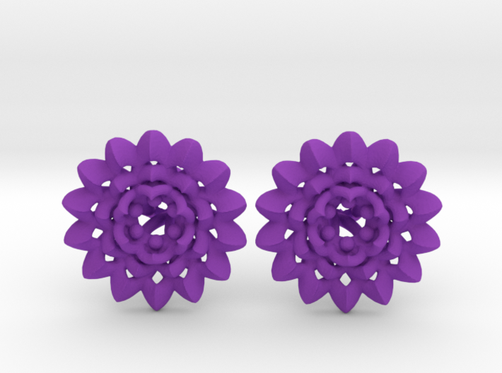 Plugs The Chrysanthemum / gauge / size 6G (3,2mm) 3d printed