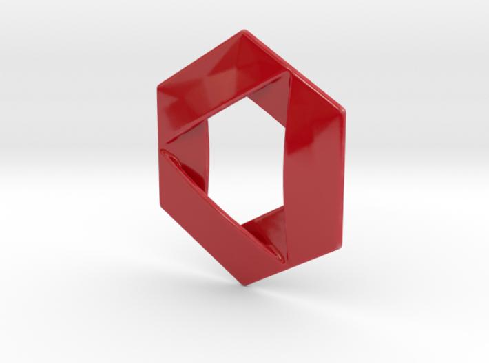 Hexagon Porcelain 3d printed
