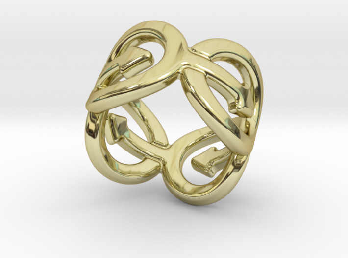 Coming Out Ring 29 – Italian Size 29 3d printed