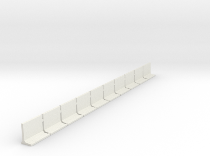 N Scale Retaining Walls 1500mm 10pc 3d printed