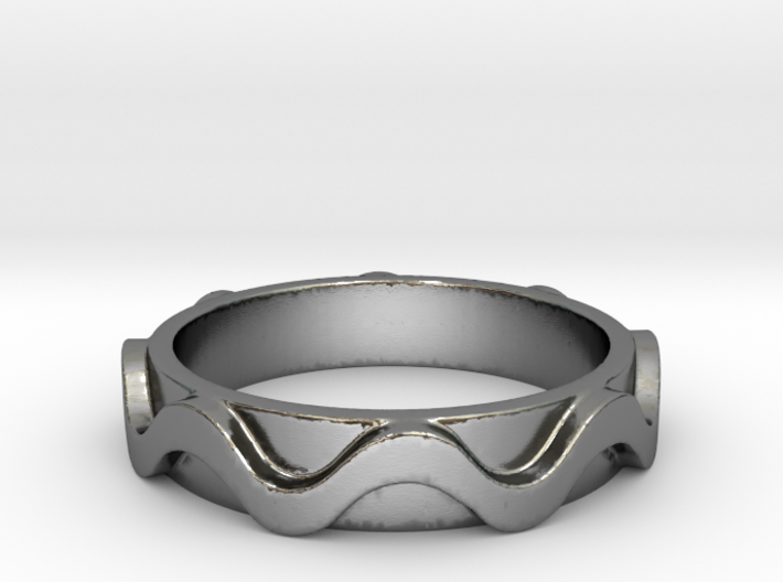 Copa band Ring Size 6.5 3d printed