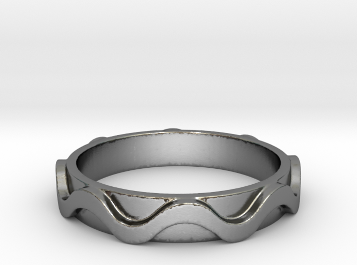 Copa band Ring Size 10 3d printed