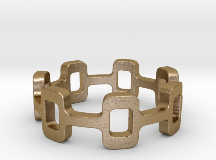 Ipa stack Ring Size 5.5 3d printed